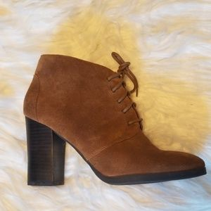 Franco Sarto - Wenda Bootie - Brown /Tan Size 7.5